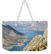 Kotor Bay In Montenegro Weekender Tote Bag