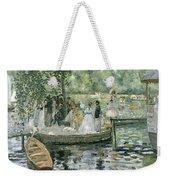 La Grenouillere Weekender Tote Bag by Pierre Auguste Renoir