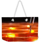 Laboratory Petri Dishes In Science Research Lab Weekender Tote Bag