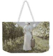 Lady In Vineyard Weekender Tote Bag by Joana Kruse