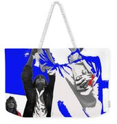 Lady Liberty's Torch Adjusted Parade Tucson Arizona Color Added Weekender Tote Bag
