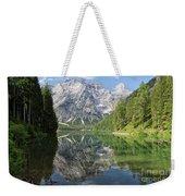 Lake Braies Weekender Tote Bag