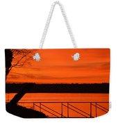 Orange You Glad I Took This Shot Weekender Tote Bag