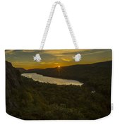 Lake Of The Clouds Sunrise Weekender Tote Bag