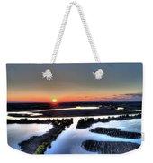 Lake Poygan Sunset Weekender Tote Bag