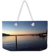 Lake Zurich At Sunset Weekender Tote Bag