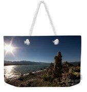 Lakefront And Sunset At Mono Lake, Eastern Sierra, California, U Weekender Tote Bag