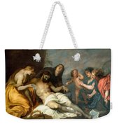 Lamentation Over The Dead Christ Weekender Tote Bag