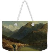 Landscape From Brienzersee Weekender Tote Bag