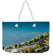 Landscape Of Lake In The South Island, Queenstown New Zealand  Weekender Tote Bag