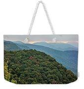 Landscape View At Cedar Mountain Overlook Weekender Tote Bag