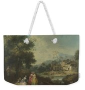Landscape With A Group Of Figures Weekender Tote Bag