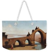 Landscape With Bridge Weekender Tote Bag