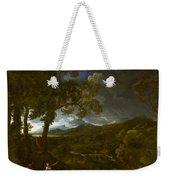 Landscape With Elijah And The Angel Weekender Tote Bag