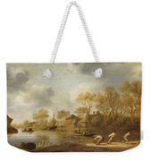 Landscape With Fishers Weekender Tote Bag
