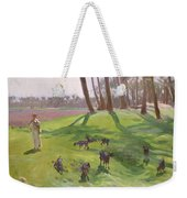 Landscape With Goatherd Weekender Tote Bag