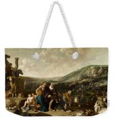 Landscape With Jacob And Rachel Weekender Tote Bag
