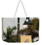 Lantana Lamp Post Weekender Tote Bag