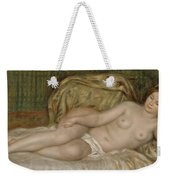 Large Nude Weekender Tote Bag