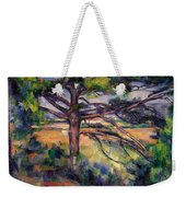 Large Pine And Red Earth Weekender Tote Bag