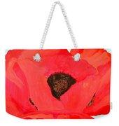 Large Poppy Weekender Tote Bag