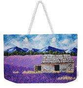 Lavender Farm Weekender Tote Bag