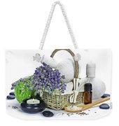 Lavender Spa Weekender Tote Bag