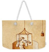 Lavoisiers Respiration Experiments Weekender Tote Bag