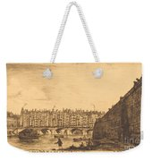 Le Pont-au-change, Paris, Vers 1784 Weekender Tote Bag