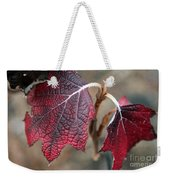 Leaves Weekender Tote Bag