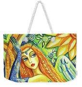 Fairy Leda And The Swan Weekender Tote Bag