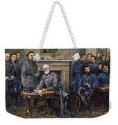 Lees Surrender, 1865 Weekender Tote Bag