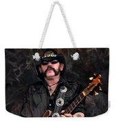 Lemmy Kilmister With Guitar Weekender Tote Bag