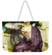 Lesbia And Her Sparrow Weekender Tote Bag