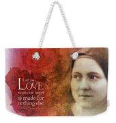 Let Us Love II Weekender Tote Bag