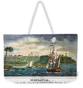 Liberia: Freed Slaves 1832 Weekender Tote Bag