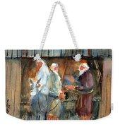 Liberty - At The Manger Weekender Tote Bag