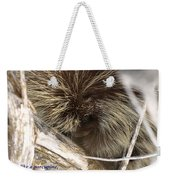 Life Is Like A Porcupine... Weekender Tote Bag