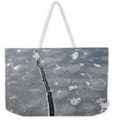 Light On The Ice  Weekender Tote Bag
