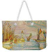 Lighthouse At Groix Weekender Tote Bag
