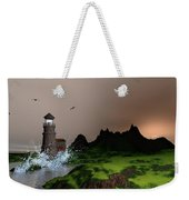 Lighthouse Landscape By John Junek Fine Art Prints And Posters Weekender Tote Bag