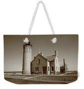 Lighthouse - Mackinac Point Michigan Weekender Tote Bag