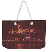 Lights Of Budapest Weekender Tote Bag