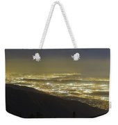 Lights Of Los Angeles, California Weekender Tote Bag