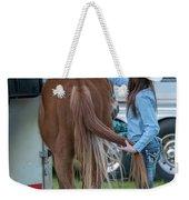 Lil' Cowgirl Weekender Tote Bag