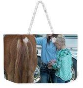 Lil' Cowgirls Weekender Tote Bag