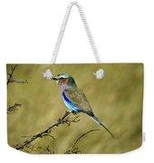Lilac-breasted Roller Weekender Tote Bag