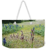 Lilac Flower In Green Canvas Spring Has Arrived 2 Weekender Tote Bag