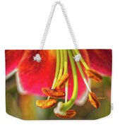Lily Abstract Weekender Tote Bag