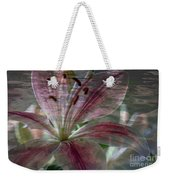 Lily Blossom Weekender Tote Bag
